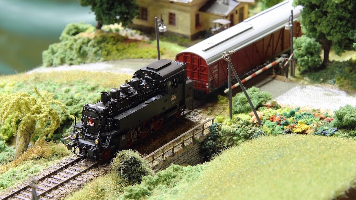 výstava modelové železnice