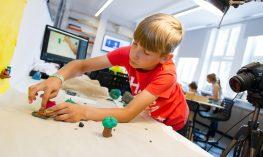 Animace děti workshop Filmový uzel Zlín